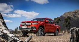 Mercedes X-Class is not your Rusty Old Pickup Truck