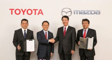 Toyota and Mazda to jointly build a $1.6 Billion US Assembly Plant