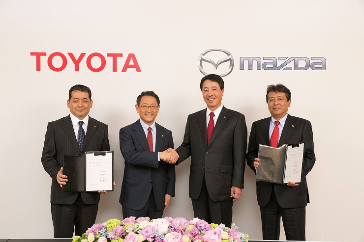 Toyota Mazda Plant Deal