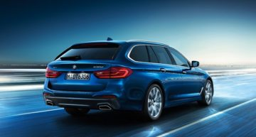 BMW 5 Series Touring: The deluxe wagon
