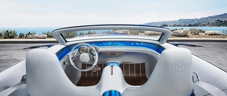 Mercedes Maybach 6 interior
