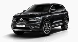 Renault Koleos is a luxury SUV for maximum comfort