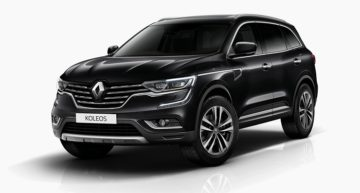 Renault Koleos is a luxury SUV for maximum comfort