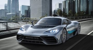 Mercedes AMG Project One: World's first road legal car with a Formula 1 powertrain