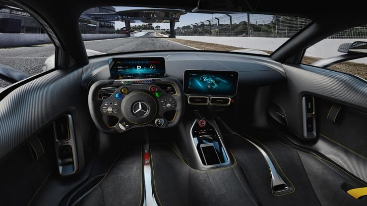 Project One interior Mercedes Benz AMG