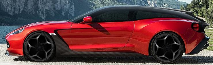 Aston Martin's Vanquish Zagato Shooting Brake is finally out!