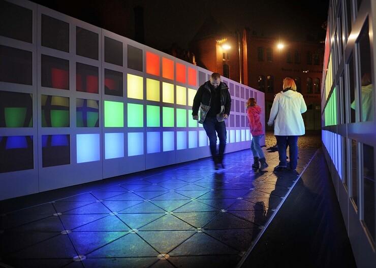 Festival of Lights - Pavegen