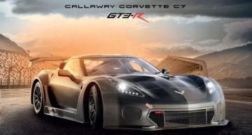 Look what's at PWC? Callaway Corvette GT3