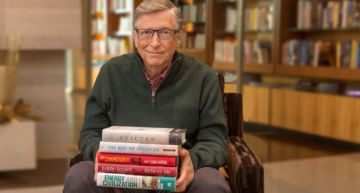 Bill Gates Names His Top 5 Books of 2017