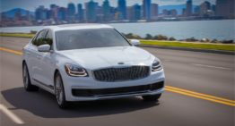 Kia Raises the Curtain on 2019 Kia K900 at New York Auto Show