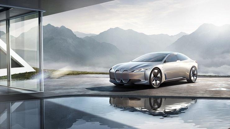 BMW i4 BMW iVision Dynamics