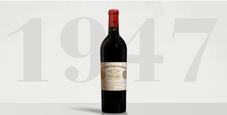 Cheval Blanc 1947 most expensive wines in the world