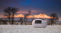 An Egg-Shaped Micro Home Built for Off-the-grid Living