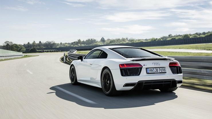 Audi R8 V10 Rear WS