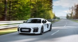 Audi's New Supercar: R8 V10 RWS