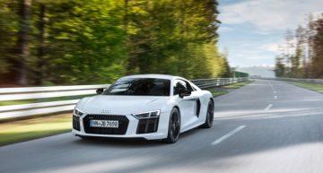 Audi's New Supercar: R8 V10 RWS