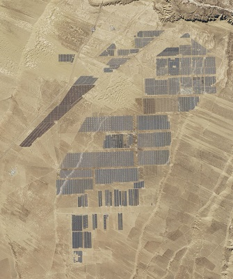 Longyangxia Dam Solar Park renewable energy