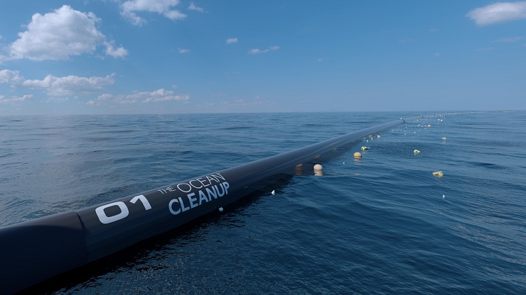 Startup Ocean plastic