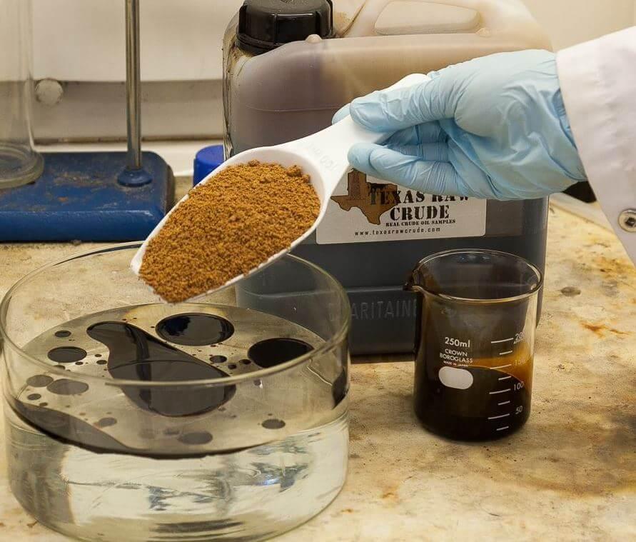 oil spill sponge