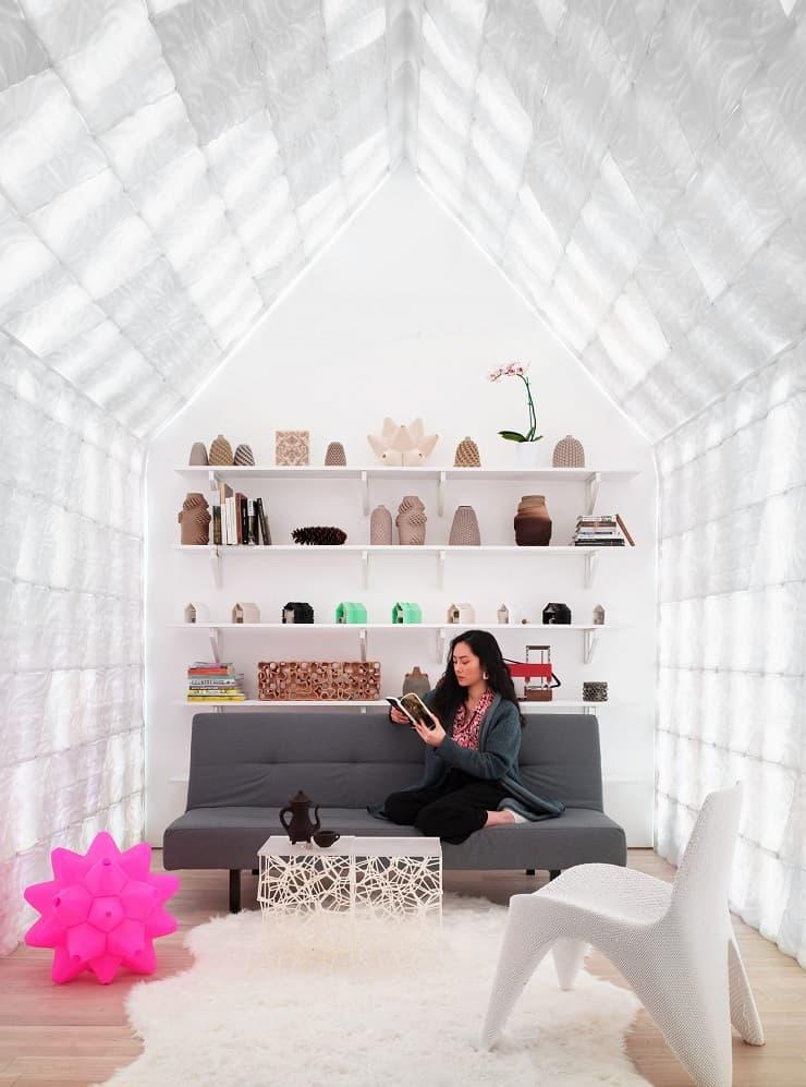 3D printing tiles interior