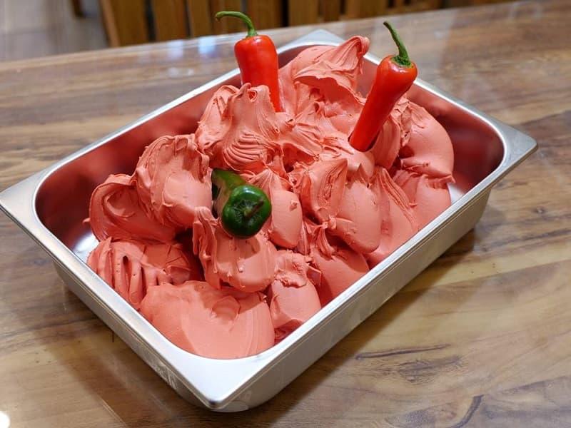 Respiro del Diavolo, world's spiciest ice cream.