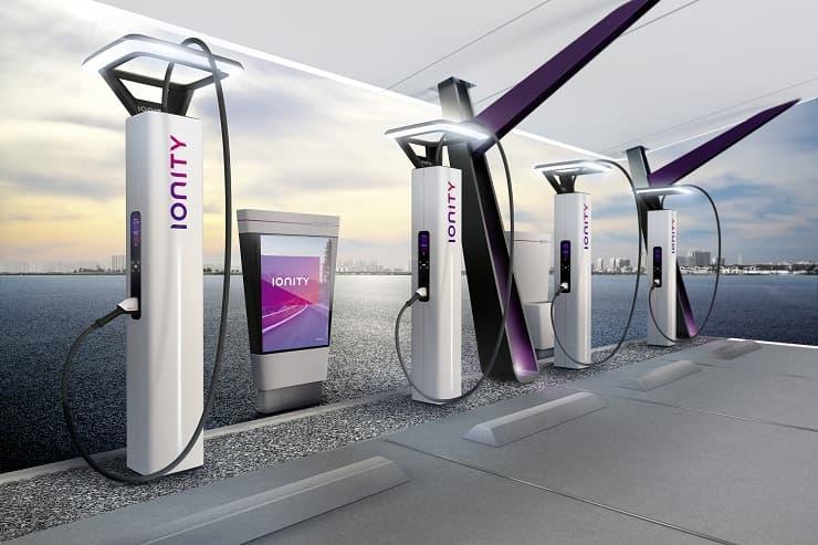 BMW Designworks Ionity Network
