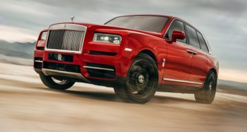 Rolls Royce Cullinan SUV Revealed: Specs and Production Volume
