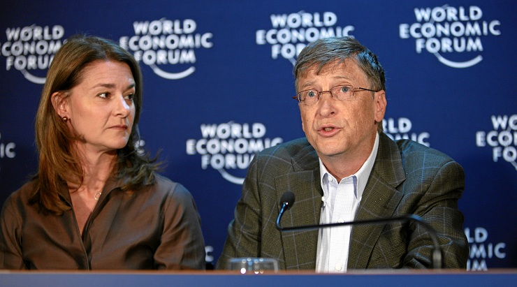 Great Leaders of All Time: Melinda French Gates, Bill Gates