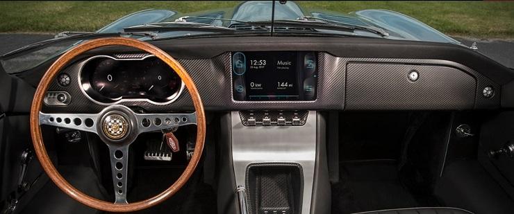 Jaguar E-type Concept Zero Royal Wedding
