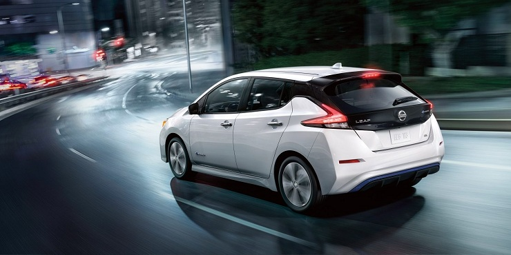 LEAF most promising electric car models in 2018