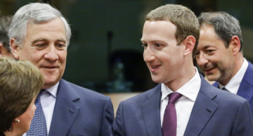 """Stop telling Facebook is a platform for all ideas,"" EU Lawmakers grill Zuckerberg"