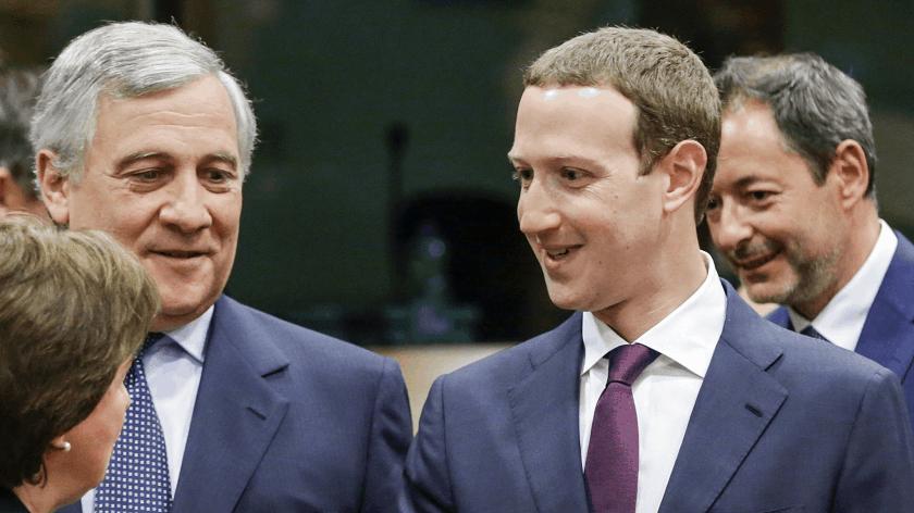 Mark Zuckerberg European parliament