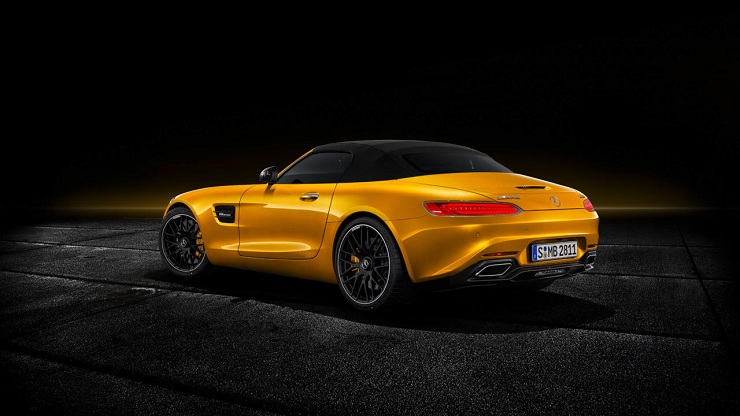 Mercedes-AMG GT S Roadster Rear