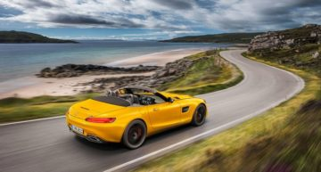 AMG GT S Roadster: That Yellow Sports Car in Mercedes Portfolio