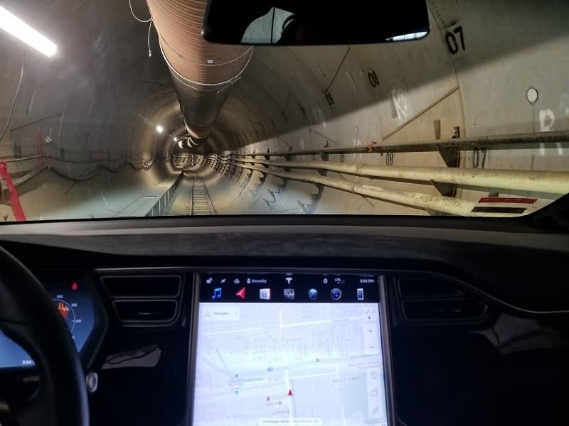 Elon Musk The Boring Company Tunnel