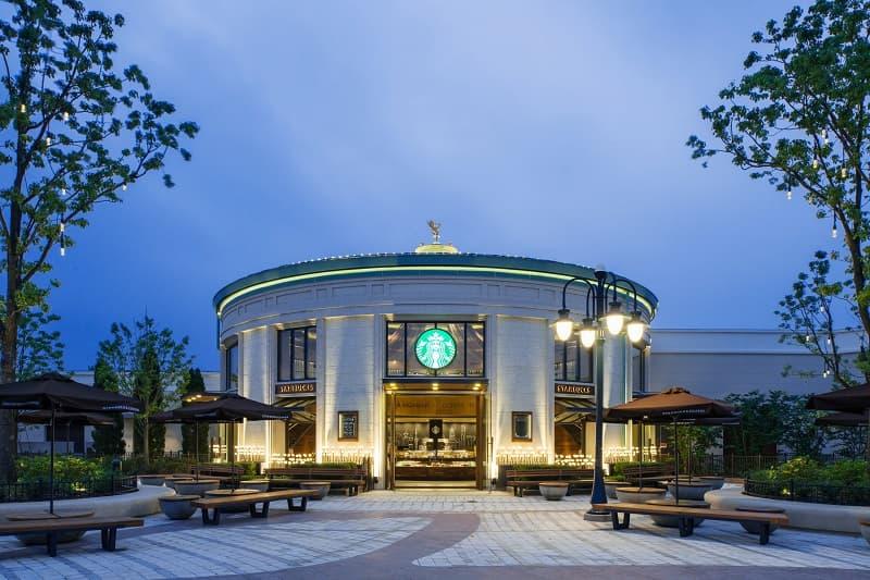 Starbucks Disneytown Store in China