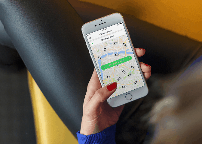 Taxify app