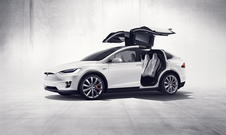Tesla Model X most promising electric car models in 2018