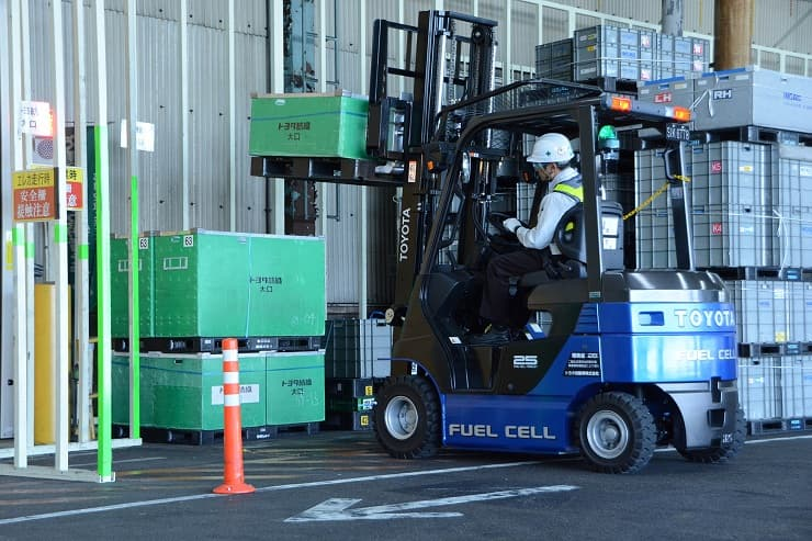 Toyota Fuel Cell Electric Vehicles