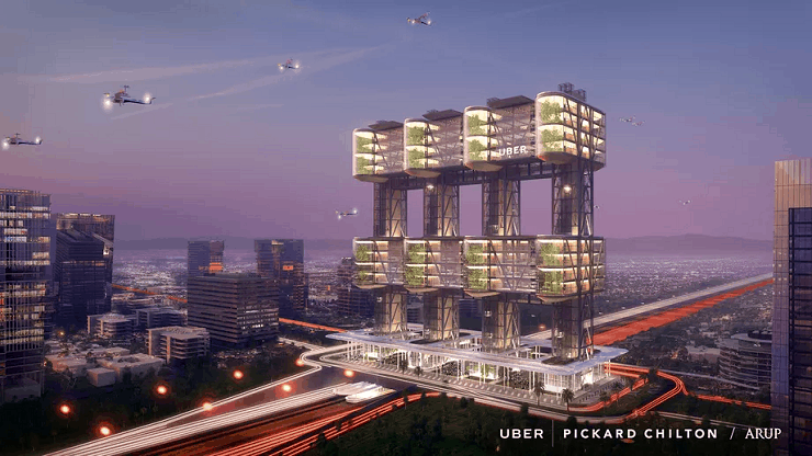 UberAIR Skyport