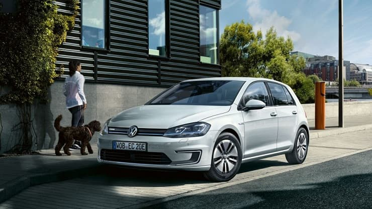 VW E-Golf most promising electric car model in 2018