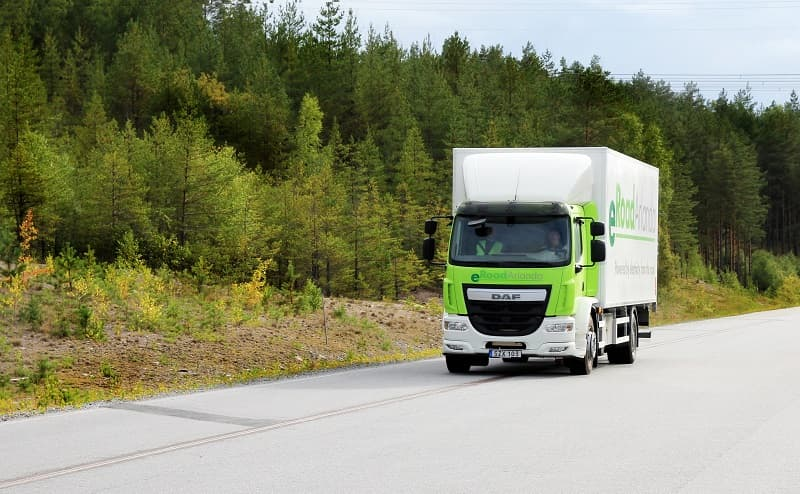 eRoadArlanda electrified roads Sweden