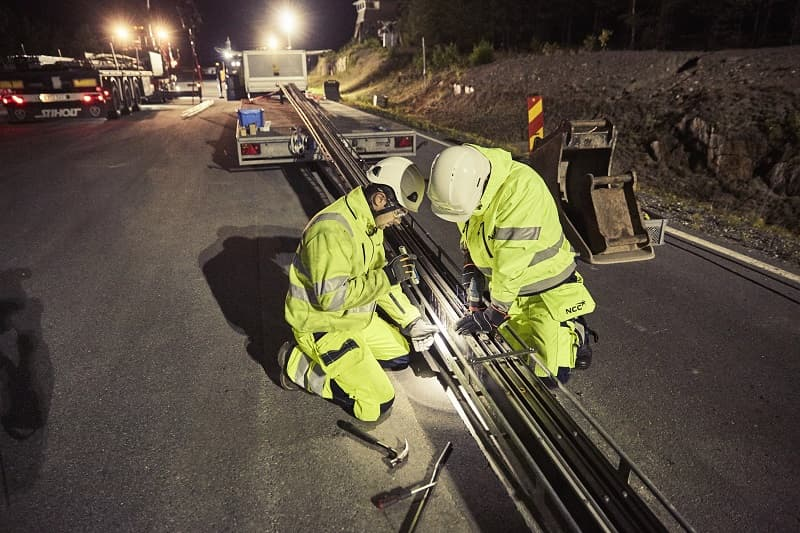 electrified road Sweden