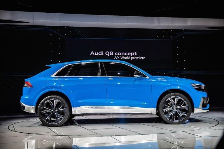 Audi Q8 leak