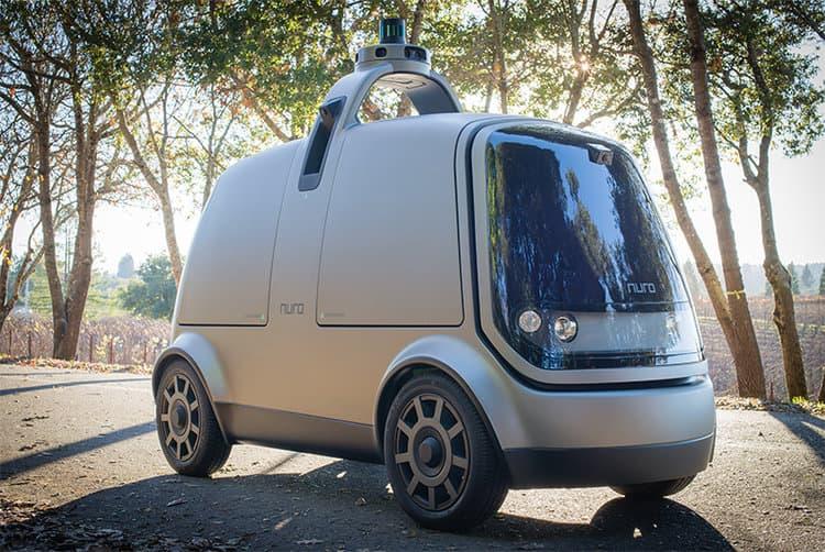 Driverless delivery system Kroger