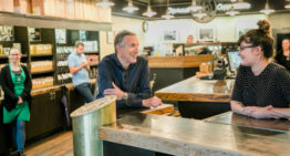 Howard Schultz bids a teary farewell to Starbucks