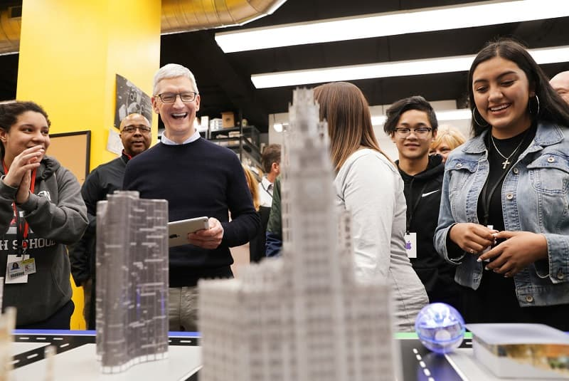 Apple future of business Tim Cook revenue