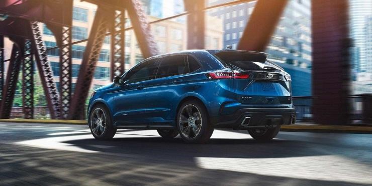 2019 Ford Edge ST back