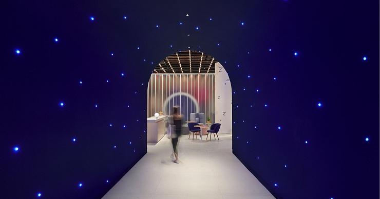 Casper The Dreamery entryway