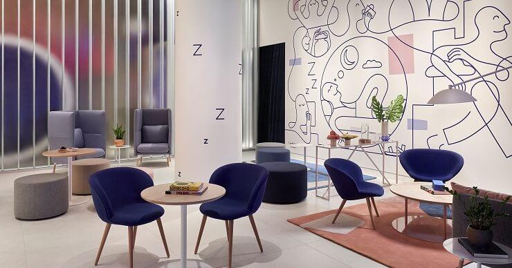 Casper The Dreamery lounge
